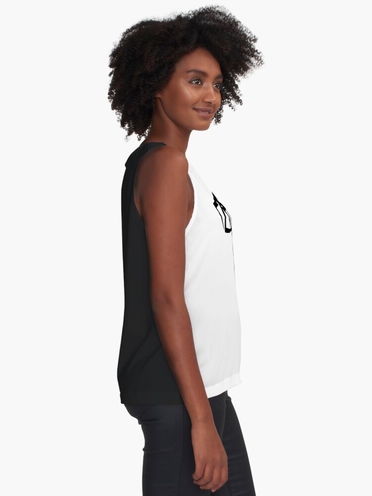 Alternate view of Basketball basketball hoop Sleeveless Top