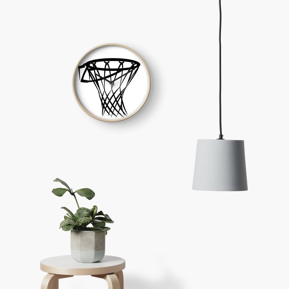 Basketball basketball hoop Clock