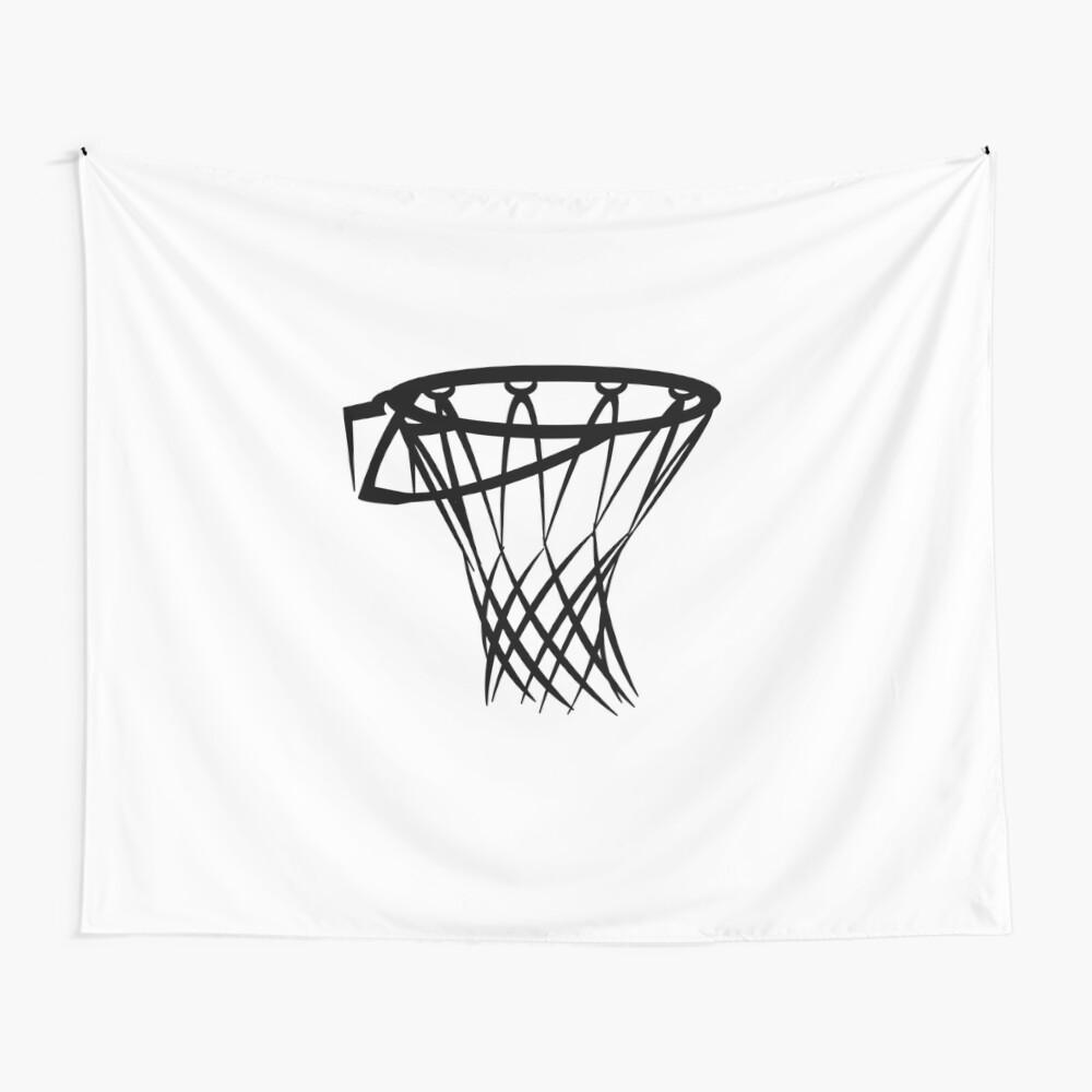 Basketball basketball hoop Wall Tapestry