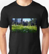 Mid September wildfowers on Mount Rainier! Unisex T-Shirt