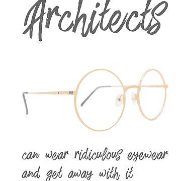 Funny Architects Eyewear by Legendemax