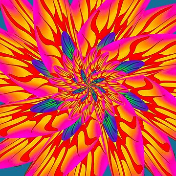 Psychedelic Lotus by GUS3141592