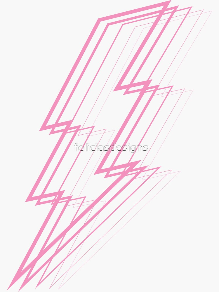 Pink Lightning by feliciasdesigns