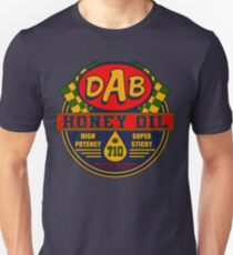 DAB Honey oil 710 Slim Fit T-Shirt