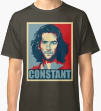 Desmond Hume from Lost - Shepard Fairy Poster Style Classic T-Shirt