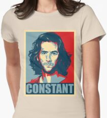 Desmond Hume from Lost - Shepard Fairy Poster Style Women's Fitted T-Shirt
