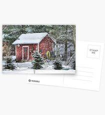 Little Red Garden Shed Postcards