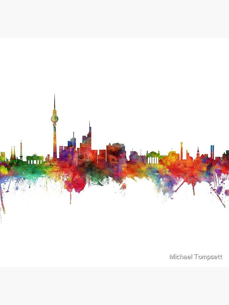 Berlin Deutschland Skyline von ArtPrints