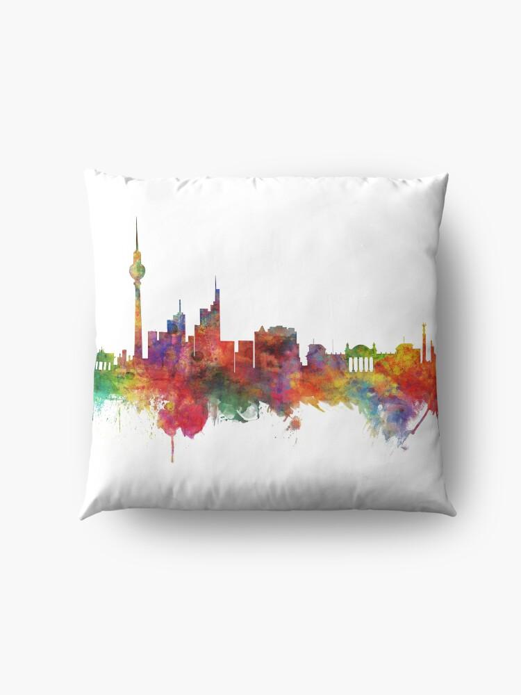 Alternative Ansicht von Berlin Deutschland Skyline Bodenkissen