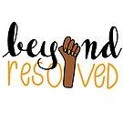 beyond resolved (yellow) by Zara Chapple