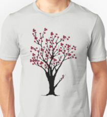 The Awake Cherry Tree in bloom Unisex T-Shirt