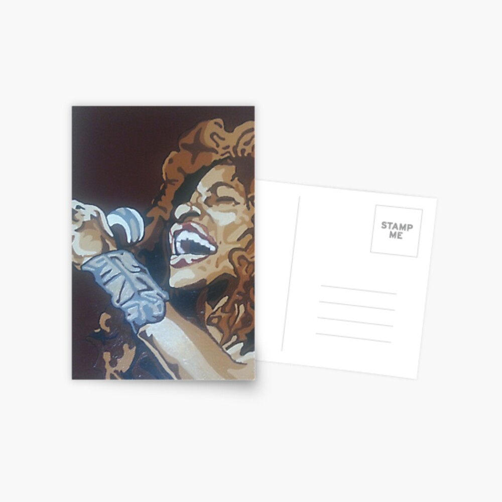 Chaka Khan Postkarte