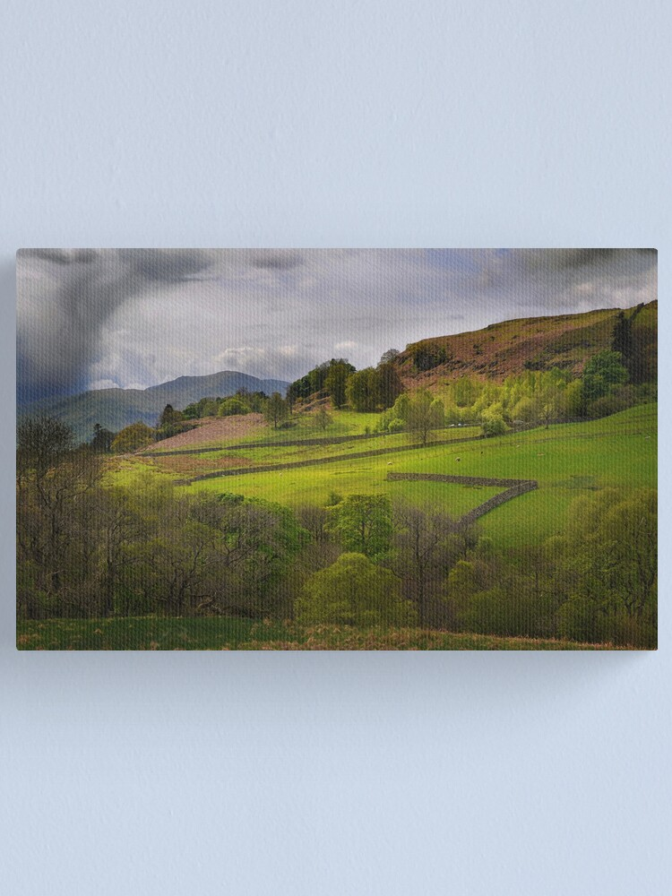 Alternate view of Lake District Farm Canvas Print