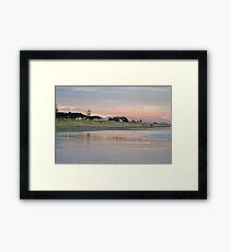 The Bright Lights of Otaki Beach Framed Print