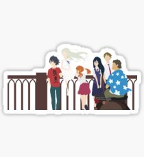 Anohana Group Minimalist Sticker
