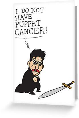 Puppet Cancer by ElocinMuse