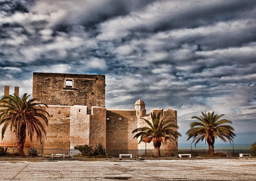 Il castello di Brucoli by Andrea Rapisarda