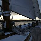 Sail Evening On Narrgansett Bay - Toward Jamestown © 2009 *featured by Jack McCabe