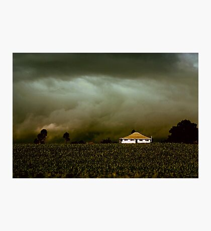 Storm on the Rise Photographic Print