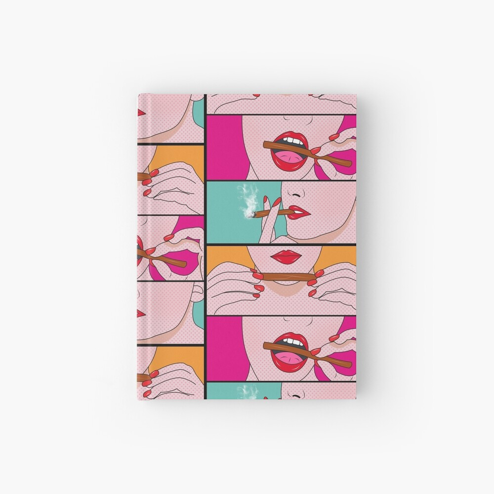 weed lady  Hardcover Journal