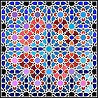 Zellige Islamic Geometry von Girih