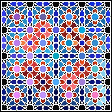 Cellular Islamic Geometry by Girih