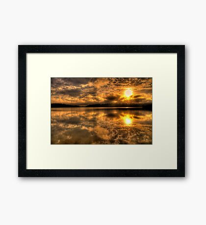 Blessed - Narrabeen Lakes, Sydney - The HDR Experience Framed Print