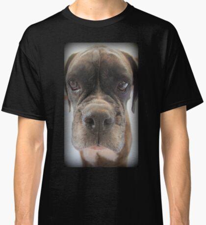 Gibt es Choc Cookies in dort? - Boxer-Hunde-Reihe Classic T-Shirt