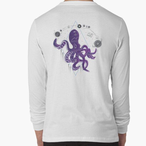 Musical Octopus Long Sleeve T-Shirt