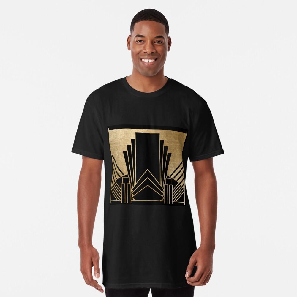 Art-Deco-Design Longshirt