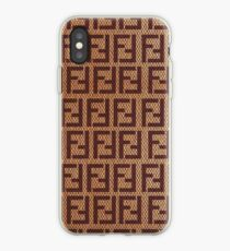 f776b60ca3dd hermes fendi face stripe original cook top iPhone Case
