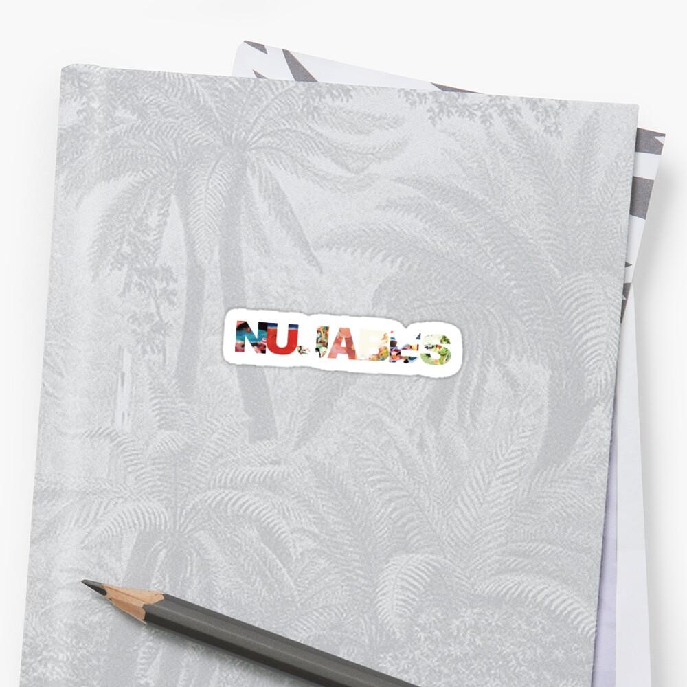 Nujabes Sticker