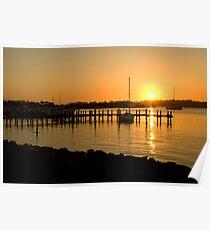 Raymond Island sunset Poster