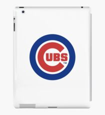 Chicago cubs T-shirt and merchandise iPad Case/Skin
