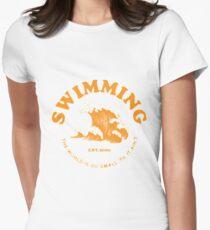 mac miller swimming Women's Fitted T-Shirt
