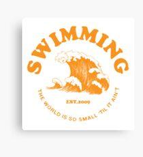 Mac Miller Schwimmen Leinwanddruck
