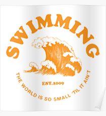 mac miller swimming Poster