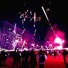 Blade Runner Fireworks by Mitchell Blatt, China Travel Writer