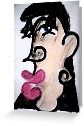 Caricature with Dark Strokes by Sarah Bentvelzen