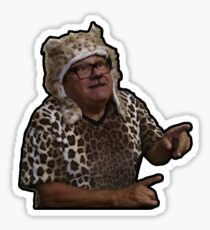 Frank Reynolds, Man Cheetah Sticker