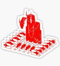 King Geedorah - Take Me To Your Leader Sticker