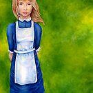 Alice in Wonderland cover by whiterabbitart