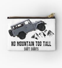 All Terrain Cruiser - J40 Inspired Zipper Pouch
