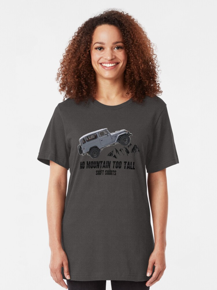 Alternate view of All Terrain Cruiser - J40 Inspired Slim Fit T-Shirt