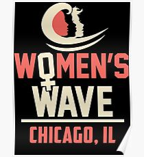 Frauenwelle 2019 in Chicago, IL Poster