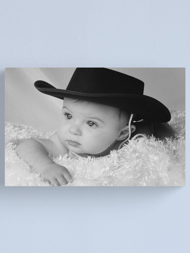 Alternate view of Little Cowboy Canvas Print