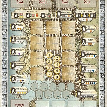 Custom Lords of Waterdeep Board by bass6153