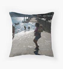 Ribeira - Porto Throw Pillow