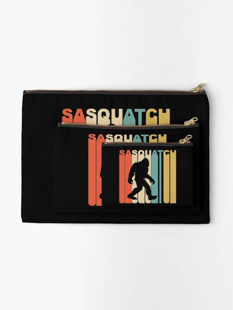Alternate view of Sasquatch Zipper Pouch