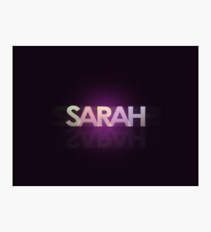 Sarah Photographic Print